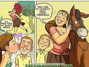 Farm lesson comix comic Jab