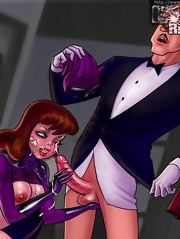 Batman's hoochie deals with king-size love clubs