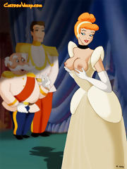 Cinderella gets double teamed
